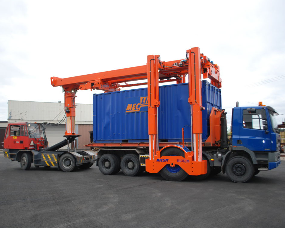 MecliftT-Container-Mover