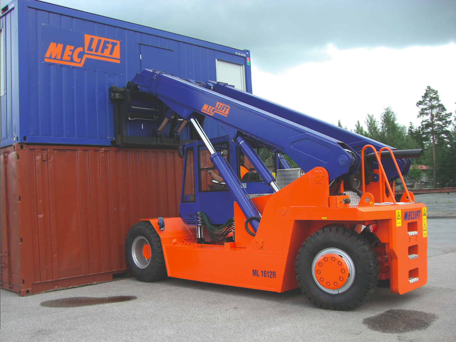 Meclift reach truck