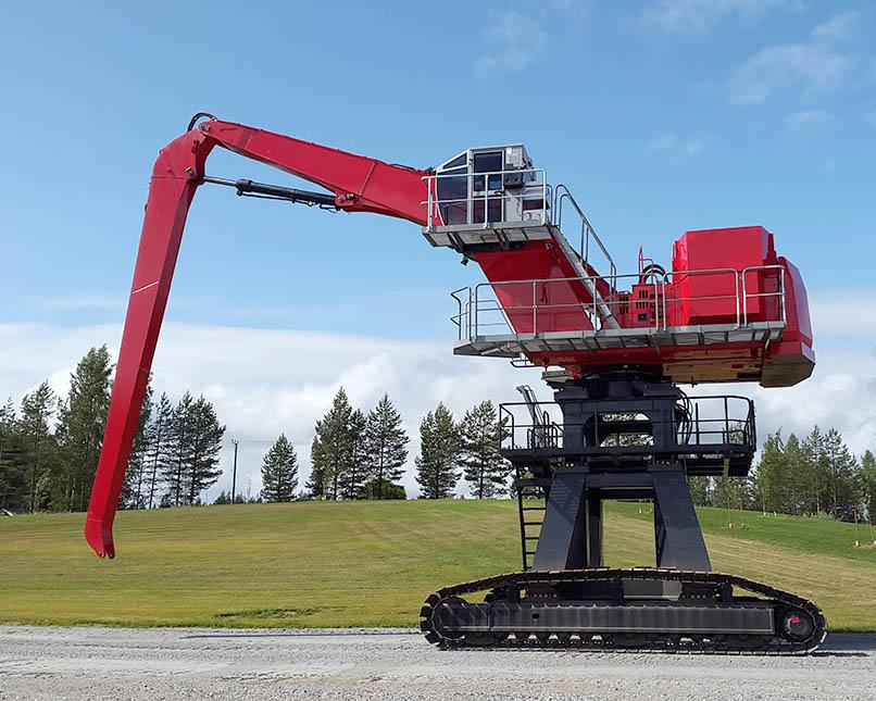 grue hydraulique 90RC