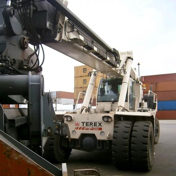 Reachstacket tfc45 Terex