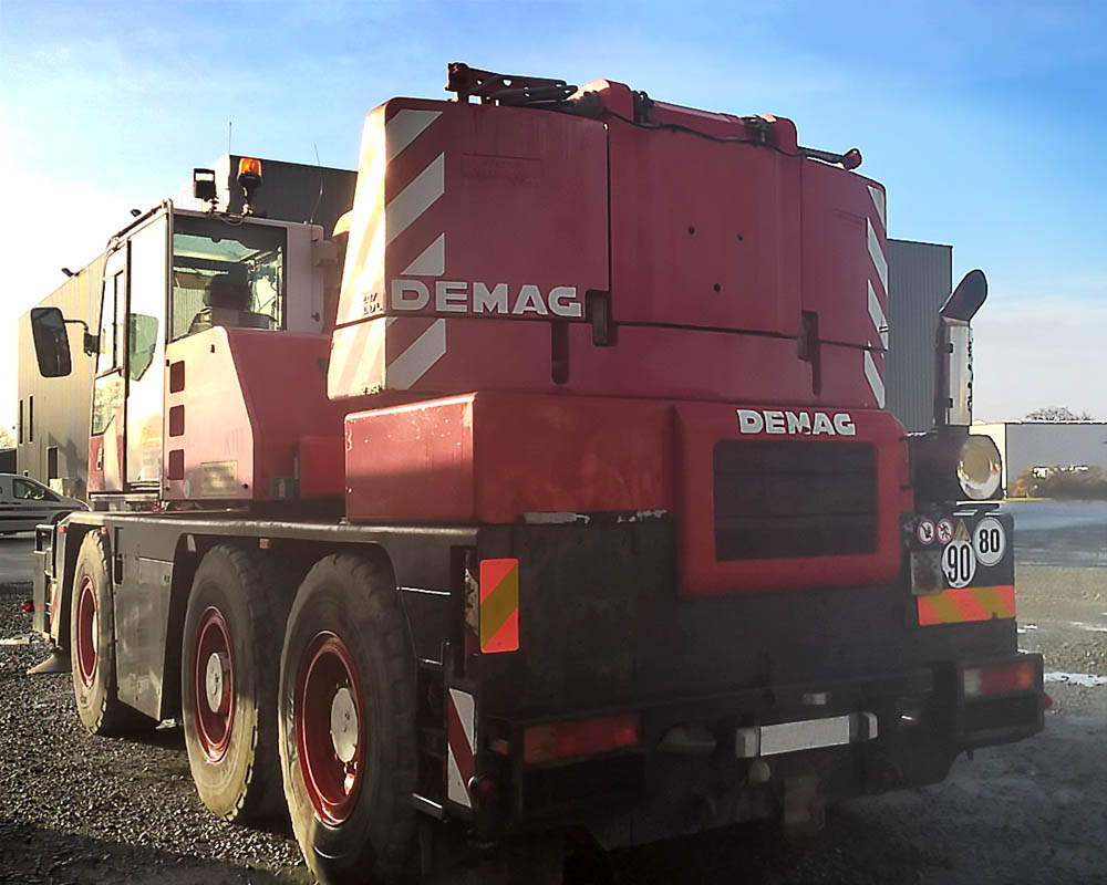 Grue mobile demag AC40