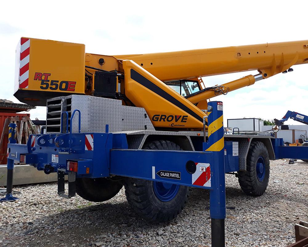 Grove RT550E