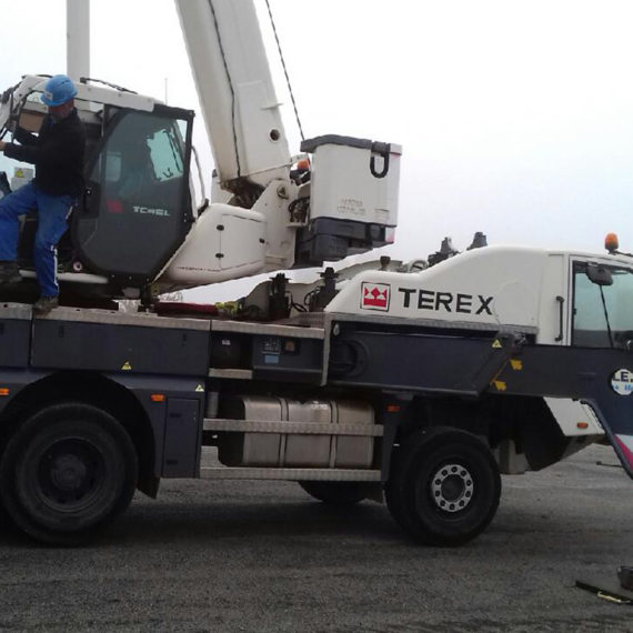 Grue lente Terex RT 45L