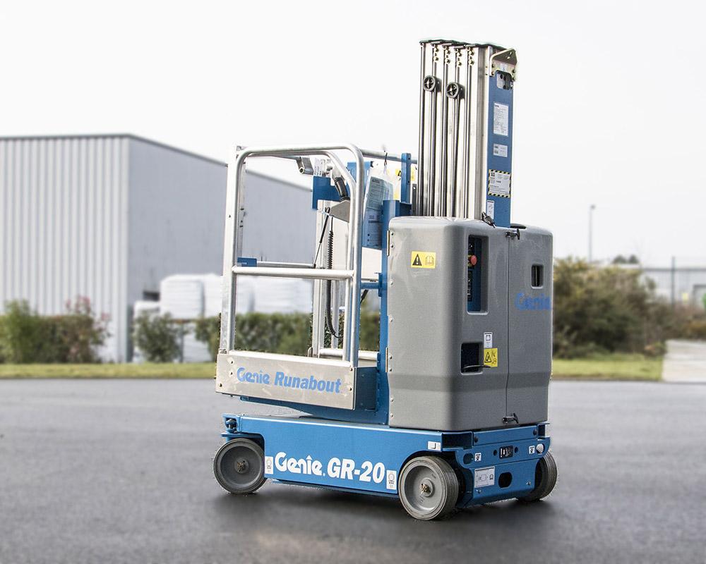 Nacelle mat vertical Génie GR20 d'occasion