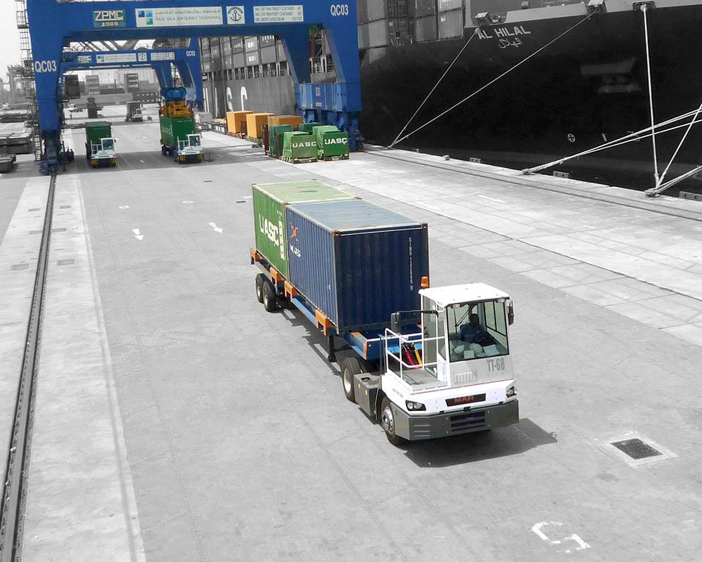 mafi terminal tractor