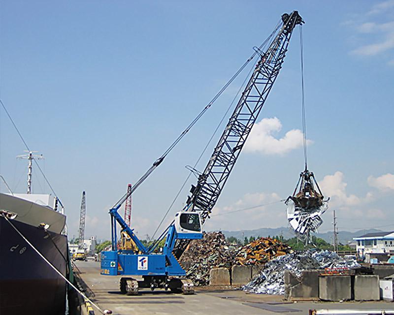 grue sur chenilles SNM cranes
