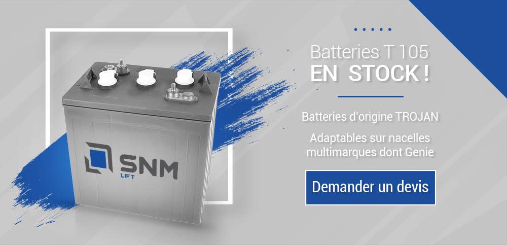 batteries t105