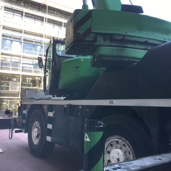 grue mobile d'occasion