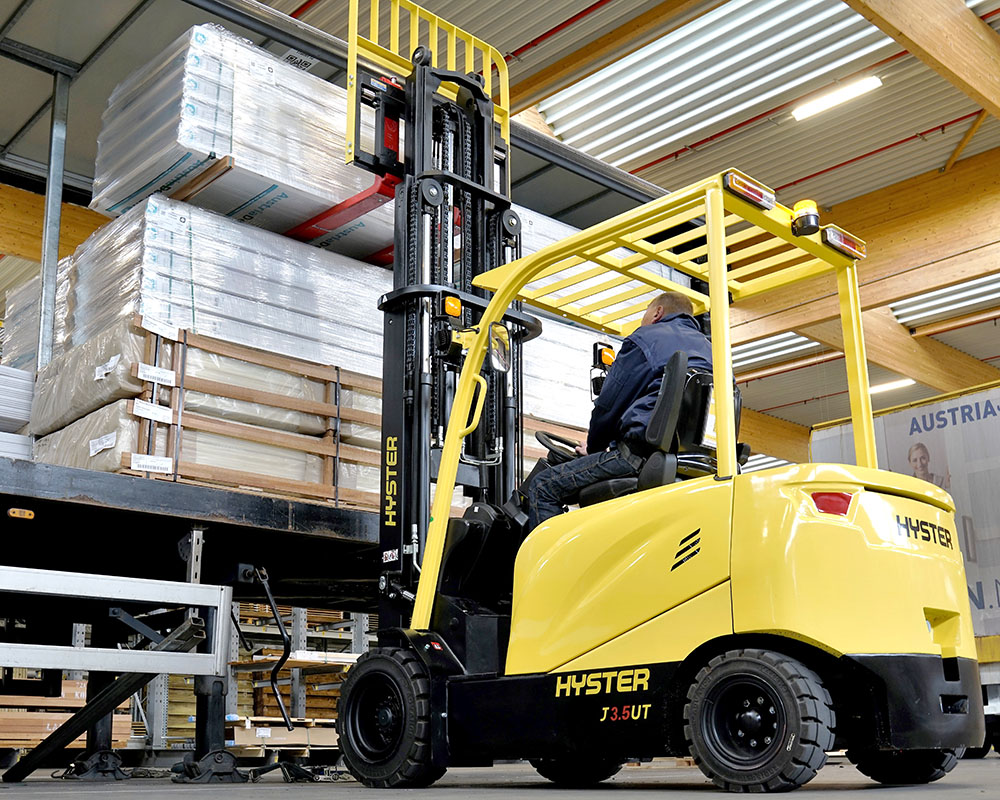 chariot hyster electrique